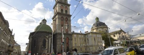 Во Львове за 9 млн грн отреставрируют одно из культовых сооружений города
