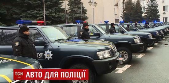 Євросоюз передав українським копам 30 джипів із Косово