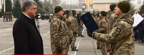 Элитный президентский полк получил новое название и флаг