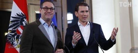 """Майбутній наймолодший канцлер Австрії домовився з """"друзями Путіна"""" про формування уряду"""
