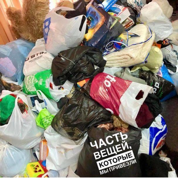 В Полтаве в интернате выбросили на помойку вещи, подаренные детям ко Дню Святого Николая - соцсети