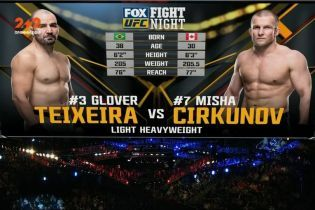 UFC 17 декабря 2017 года. Гловер Тейшейра - Миша Циркунов. Видео боя