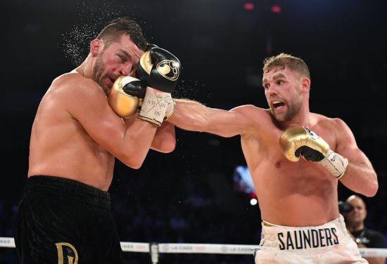 Британець Сондерс розібрався із канадцем Лем'є і захистив титул чемпіона світу