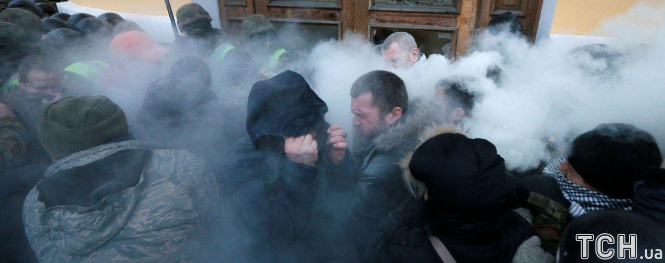 """""""Такі дії підривають довіру до вуличних акцій"""": соратники Саакашвілі не зрозуміли штурму Жовтневого палацу"""