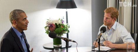Принц Гарри взял интервью у Обамы для BBC