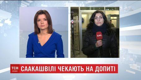 В Генпрокуратуре ждут на допрос Саакашвили