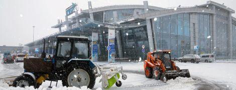 """Аэропорт """"Киев"""" из-за осложнения погодных условий переносит часть рейсов в Борисполь"""