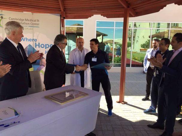В Об'єднаних Арабських Еміратах відкрили Центр лікування і реабілітації за методом професора Козявкіна