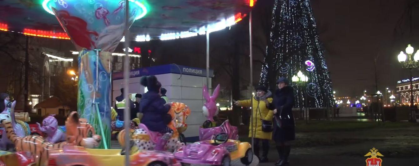 Россиянин поджег главную новогоднюю елку Калининграда