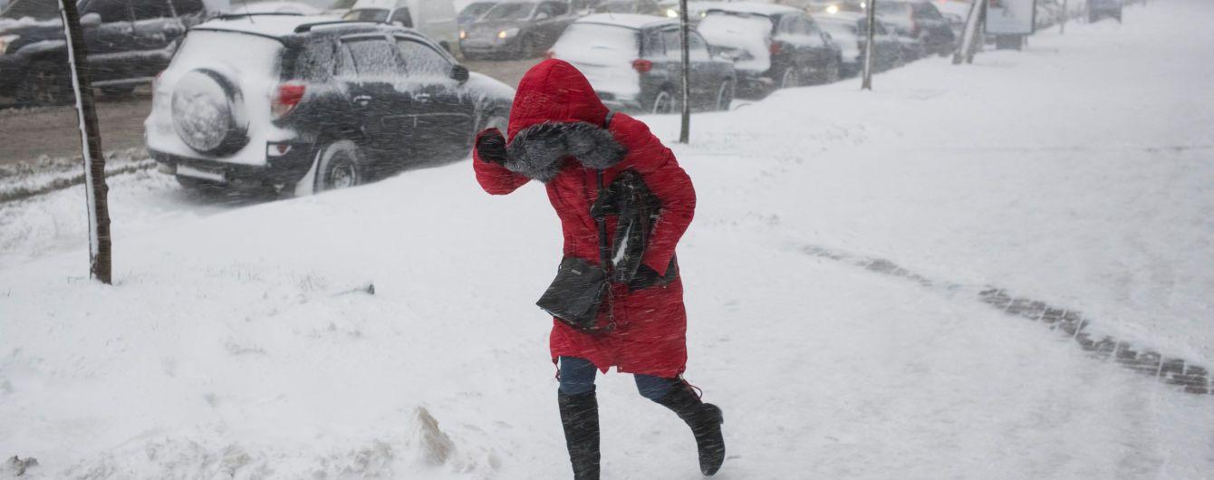 Синоптики оголосили штормове попередження - два дні будуть хуртовини