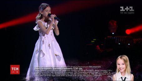 """Переможниця вокального шоу """"Голос.Діти"""" вирушить на вікенд до Діснейленду"""