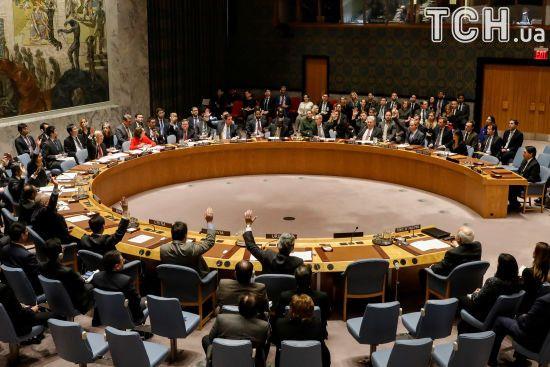 Радбез ООН: РФ звинуватила США, Велику Британію і Францію у змові