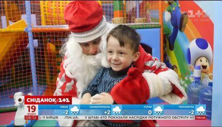 Егор Гордеев стал Дедом Морозом ради мечты маленького Дениса