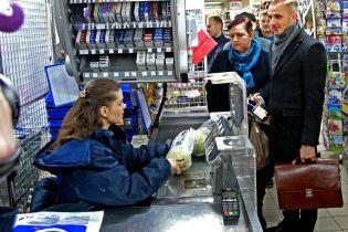 В Польше из-за запрета на торговлю закрыты магазины