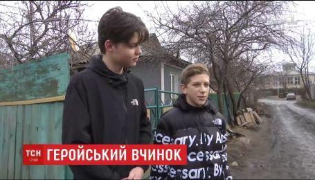 Двое подростков в Винницкой области самостоятельно с поличным задержали вора-рецидивиста