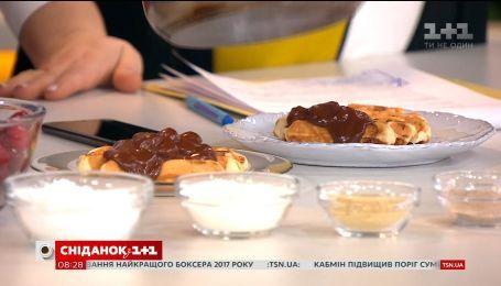 Порція смаколиків і спортивних новин - у студії Сніданку Леонід Веселков