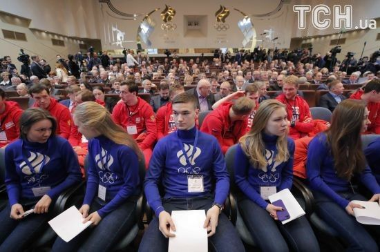Презентовано логотип російських атлетів, яких допустять на Олімпіаду-2018