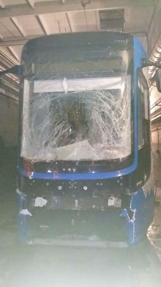 У Києві розбився новий польський трамвай Pesa