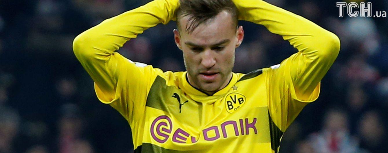 Удар Ярмоленка увійшов до топ-5 промахів чемпіонату Німеччини