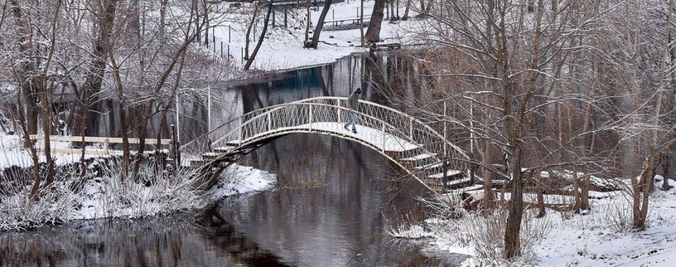 Після лютих морозів в Україні йтиме лапатий сніг
