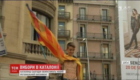 Каталония выберет состав нового парламента