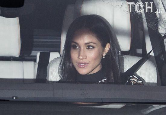 Наречена принца Гаррі вперше відвідала Букінгемський палац з офіційним візитом