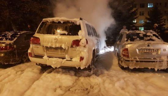 Невідомі спалили авто чоловіка судді, яка головує у справі про криваву ДТП у Харкові - ЗМІ