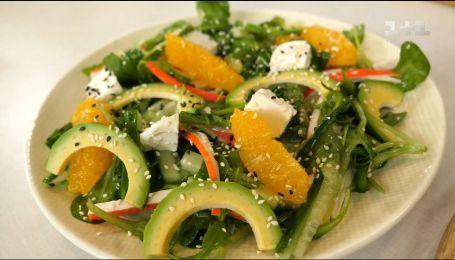 Салат с крабовыми палочками и фетой - рецепты Сеничкина