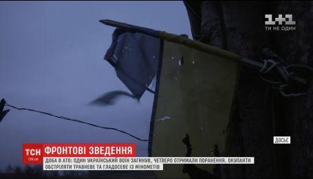 Боевики накрыли из артиллерии и тяжелых минометов Авдеевку и Каменку