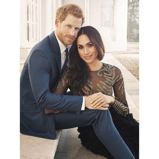 Принц Гаррі та Меган Маркл зворушили фанів офіційними портретами на честь заручин