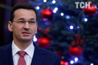 Літак із польським прем'єром евакуювали після появи на злітно-посадковій смузі