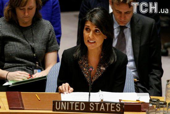 Постпред США в ООН запевнила, що Америка відреагує на хіматаку у Сирії