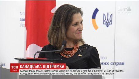 Канада передает пострадавшим вследствие войны в Донбассе почти 8 миллионов долларов