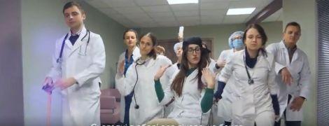 """""""Оу, щит, да послушай врачей"""": украинские медики зачитали рэп с советами для больных"""