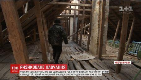 На Хмельнитчине 30 лет не могут достроить новую школу