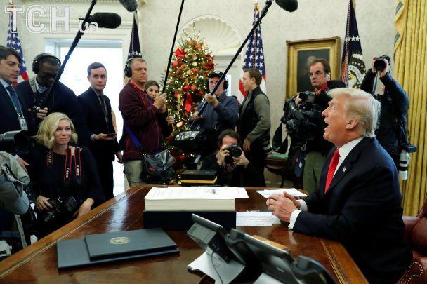 Налоговая реформа США: Трамп получил самую масштабную победу первого года президентства