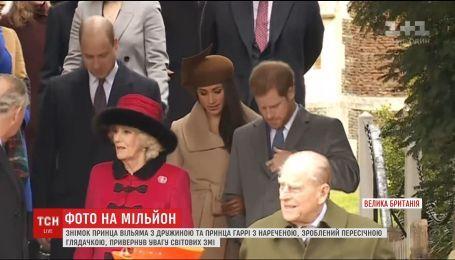 Британка сподівається заробити кругленьку суму на затребуваному фото з британськими принцами