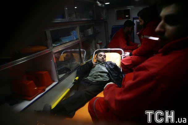 Первая волна эвакуации больных изВосточной Гуты