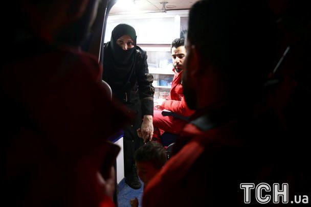 Изпригорода Дамаска началась медицинская эвакуация