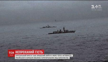 Британский фрегат вышел в море из-за активности российского корабля