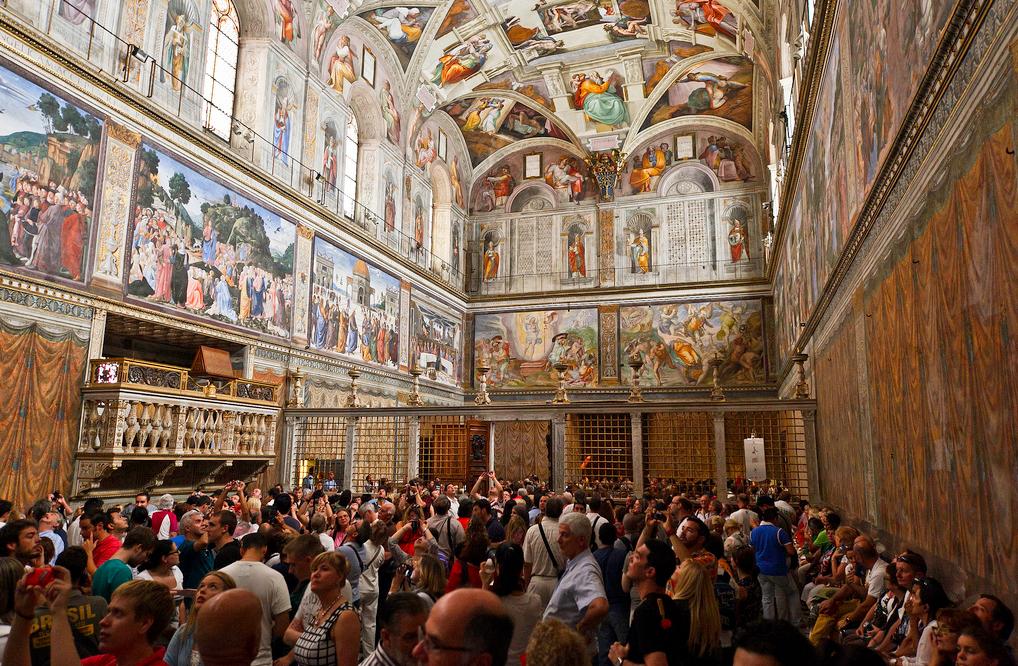 Сікстинська капела, Ватикан