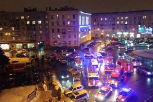 У Санкт-Петербурзі в годину пік стався вибух у супермаркеті, є травмовані