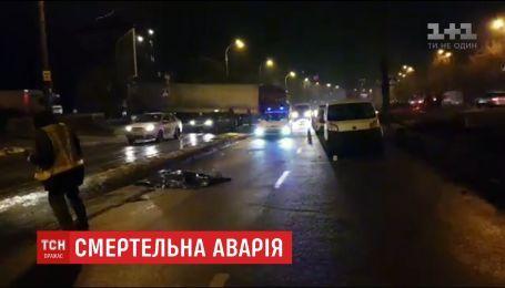 В Киеве авто насмерть сбило женщину, которая переходила дорогу