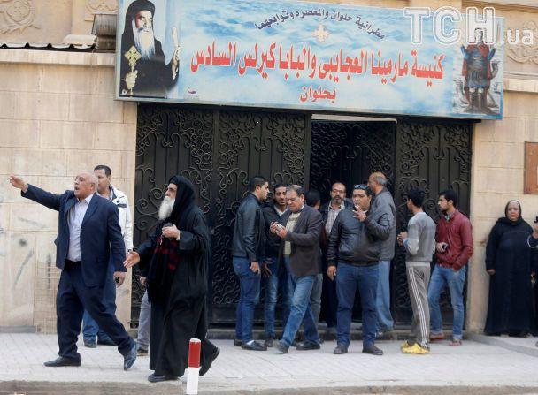 """У Єгипті бойовик """"ІД"""" напав на коптську церкву і магазин, загинули 11 людей"""
