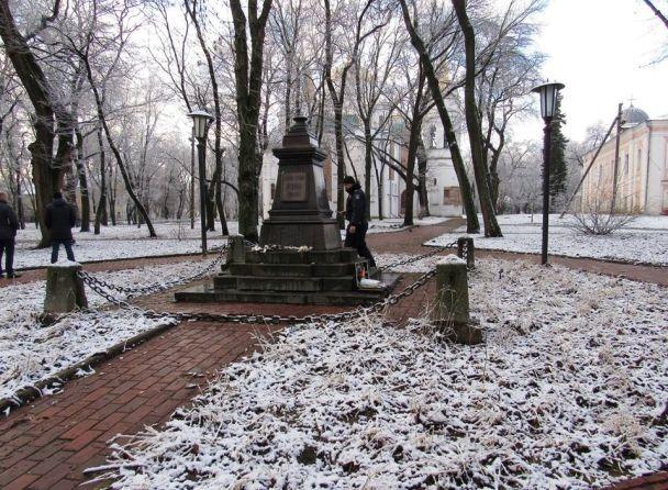 У Чернігові вночі вкрали ще одне бронзове погруддя російського класика