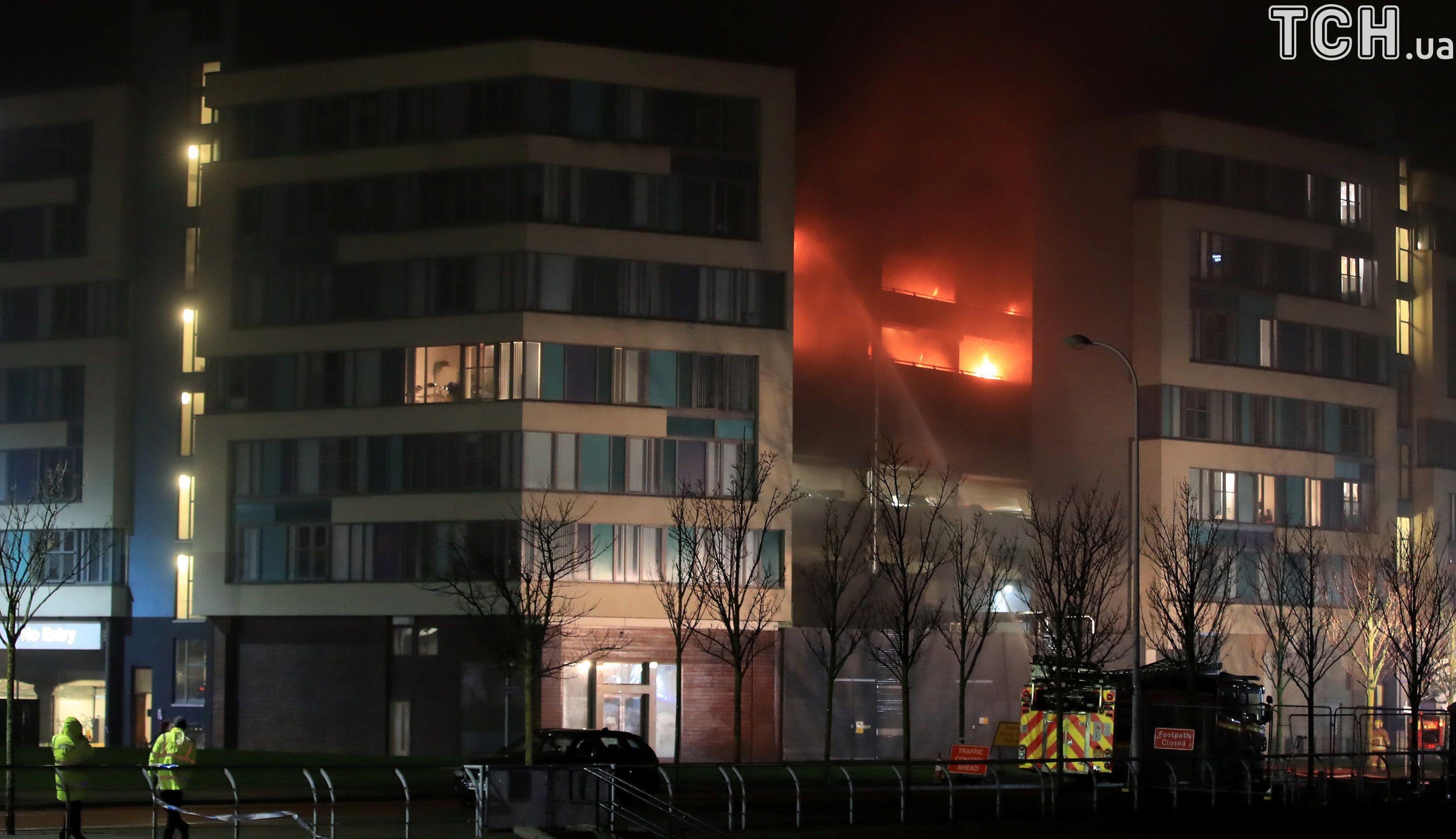 пожежа на парковці в Ліверпулі_2