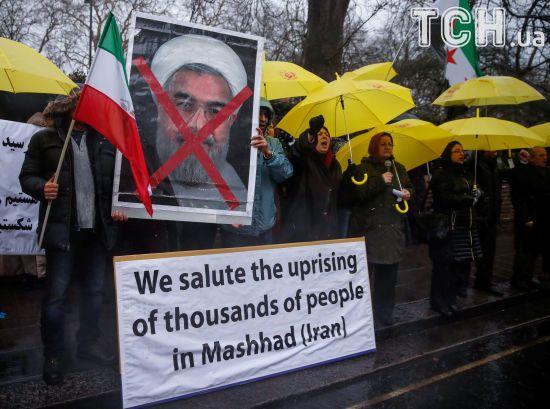 Влада Ірану назвала офіційну кількість загиблих і заарештованих під час нещодавніх протестів