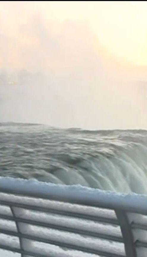 У США через рекордні морози замерз Ніагарський водоспад