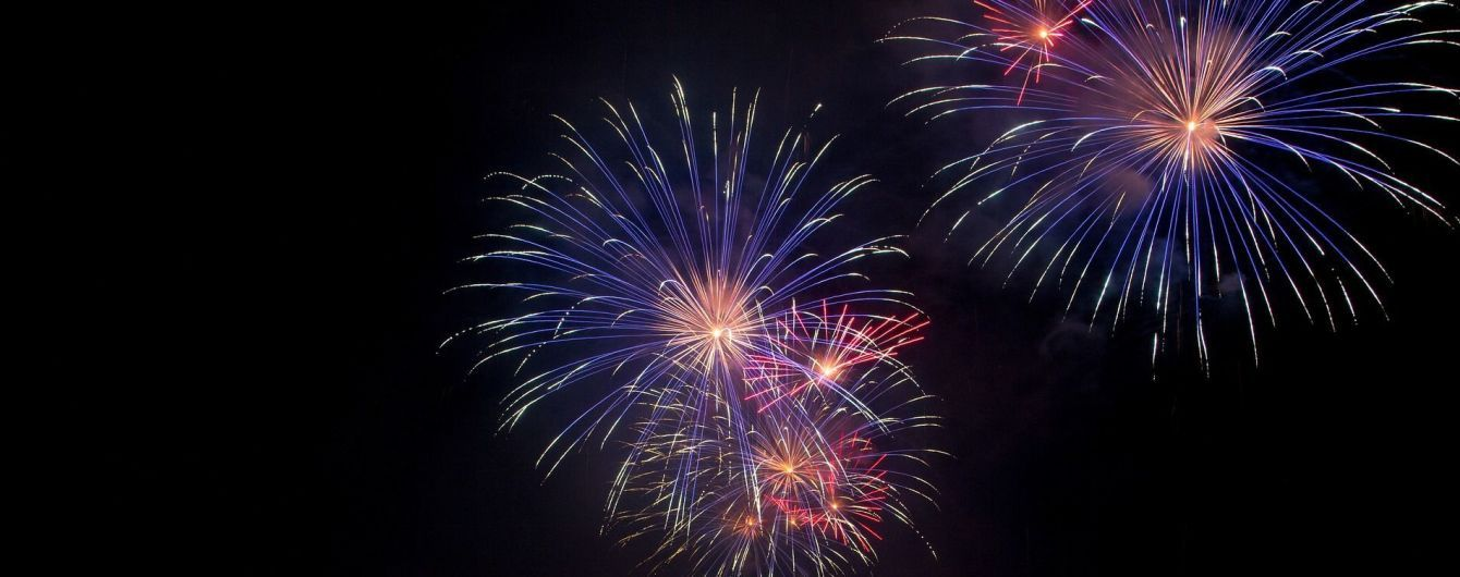 Многие крымчане встречали Новый год по киевскому времени фейерверками