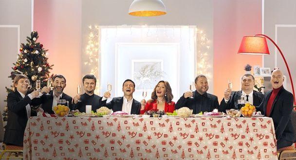 """Канал """"1+1"""" традиційно став лідером телеперегляду в новорічну ніч та продемонстрував рекордні рейтинги"""